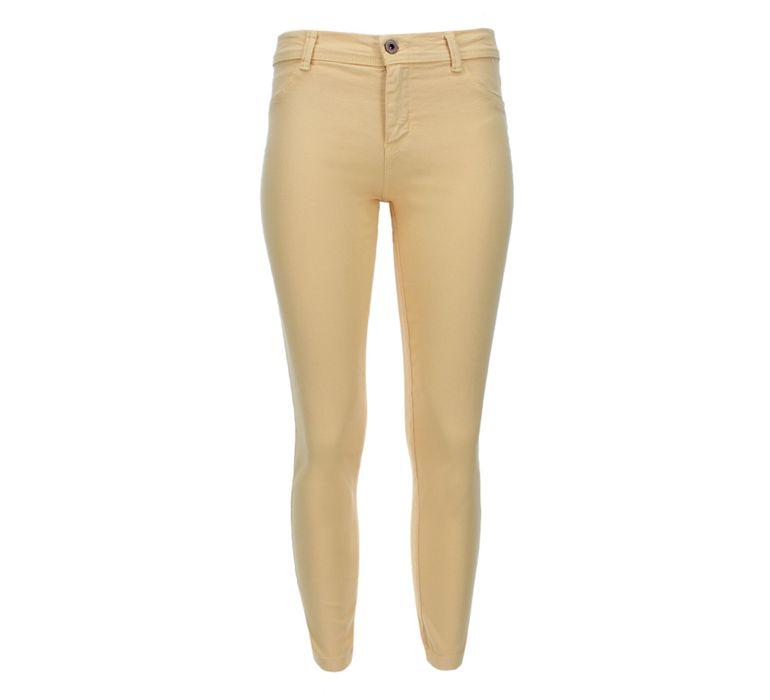 Pantalon Mujer Dril Mostaza Facol