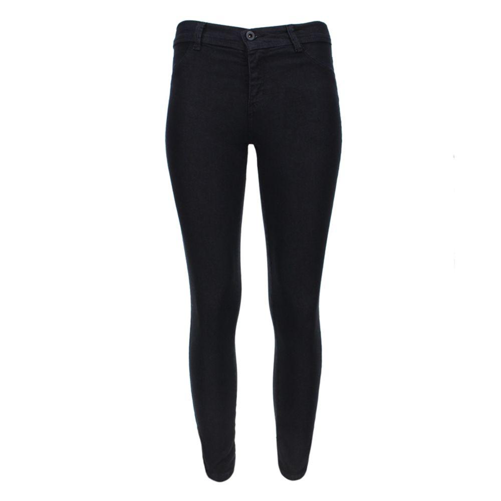 Pantalon Mujer Dril Negro Facol