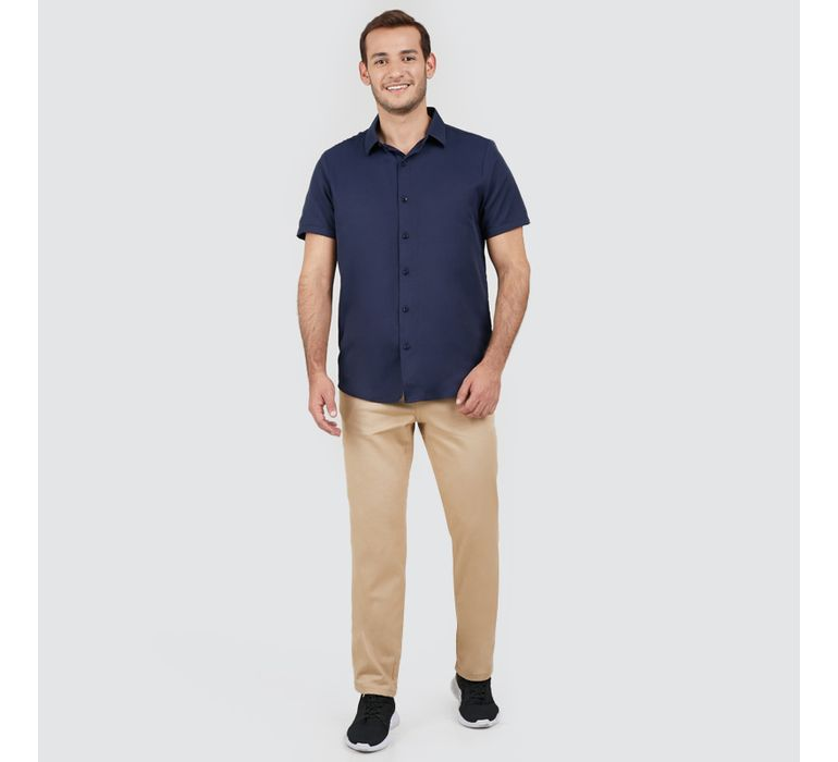 Pantalon En Dril Hombre 5 Bolsillos Facol