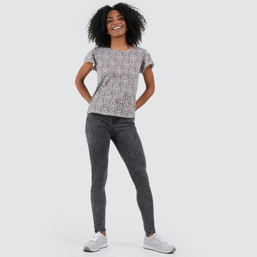 Jean Rainwash Skinny Mujer Color Gris,Talla 10