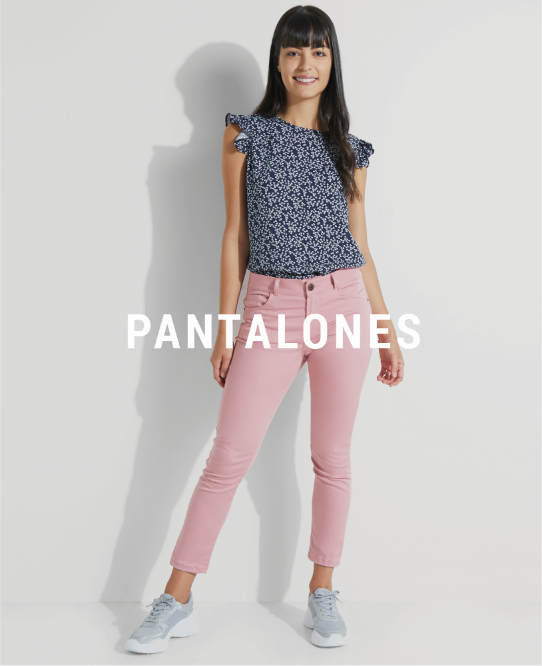 Pantalones de mujer descuento banner home - desktop