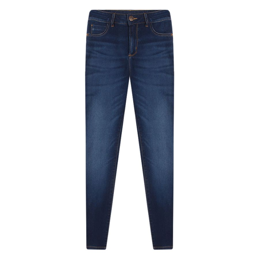 Jean Skinny Para Mujer Color Azul, Talla10
