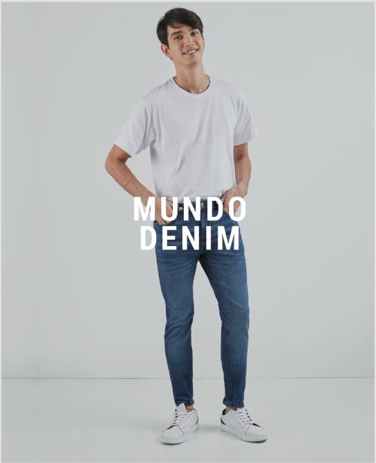 Jeans de hombre descuento banner home - desktop