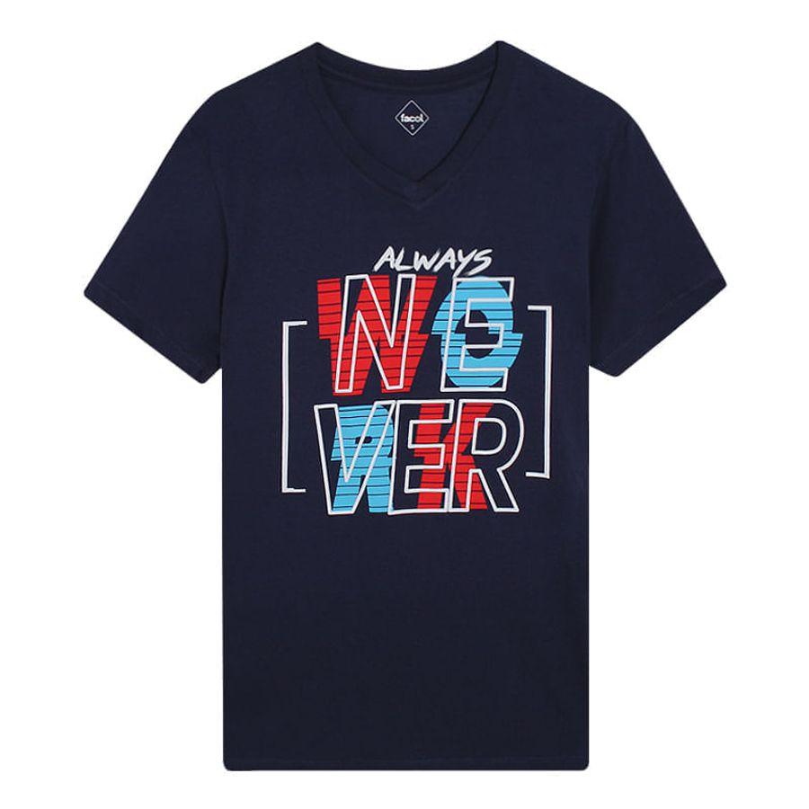 Camiseta Hombre Nower Color Azul, Talla S