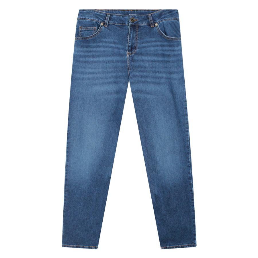 Jean Skinny Hombre Color Azul, Talla 28