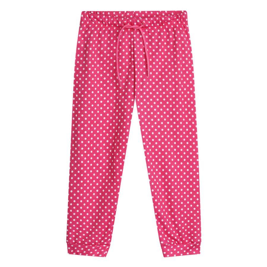 Pantalon Jogger Para Niña Color Rosado, Talla 10