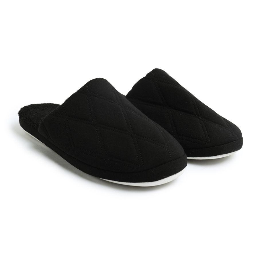Pantuflas Hombre Negras Color Negro, Talla 39/40