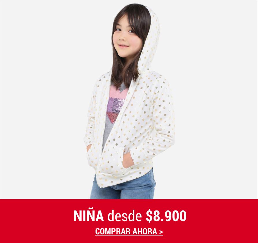 Banner Home -  FEB2021 - Niña - Desde $8.900 (Desktop)