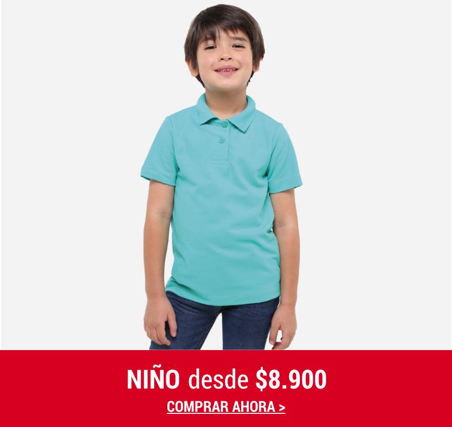 Banner Home -  FEB2021 - Niño - Desde $8.900 (Desktop)
