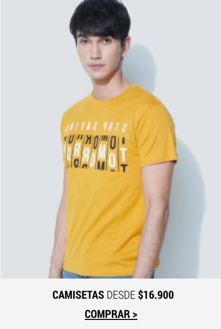 Banner Home -  FEB2021 - Hombre - Camisetas (Desktop)