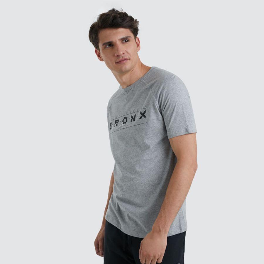 Camiseta Bronxs Color Gris, Talla L