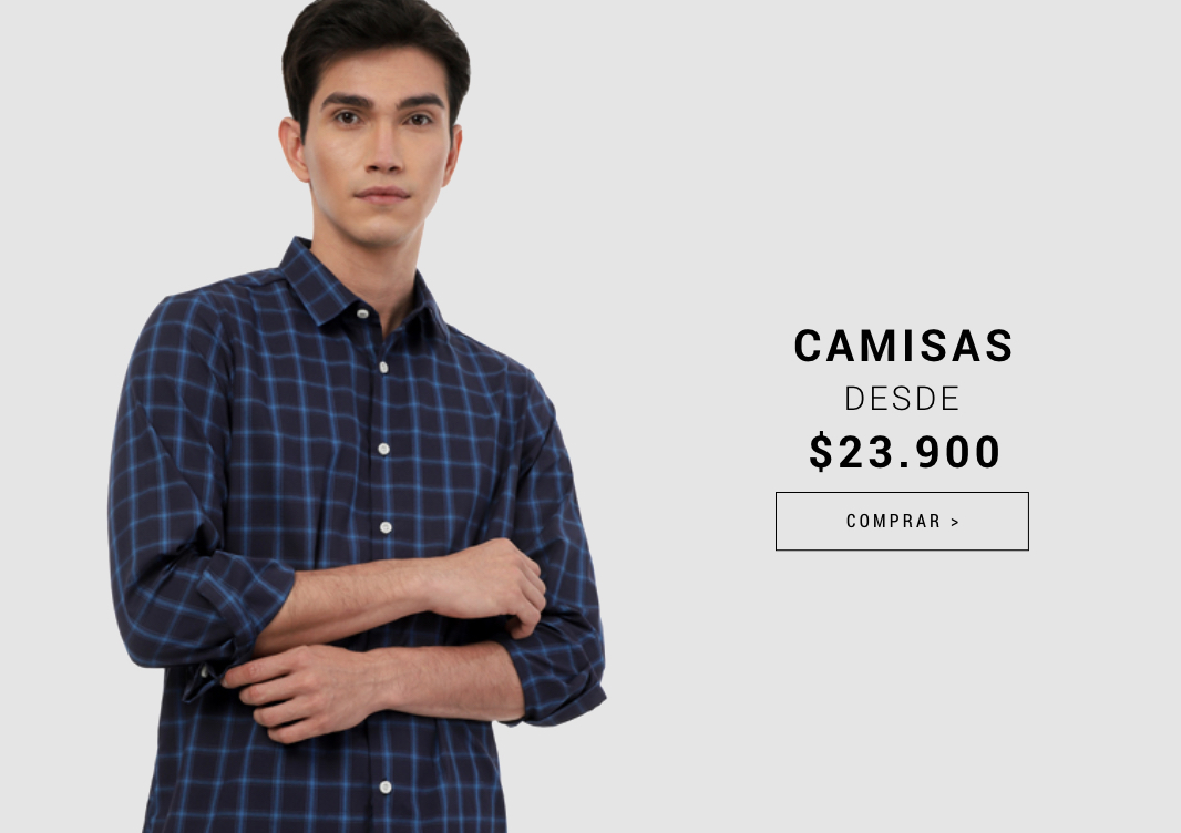Banner Home -  ABR2021 - Hombre - Camisas Desde 23900 (Desktop)