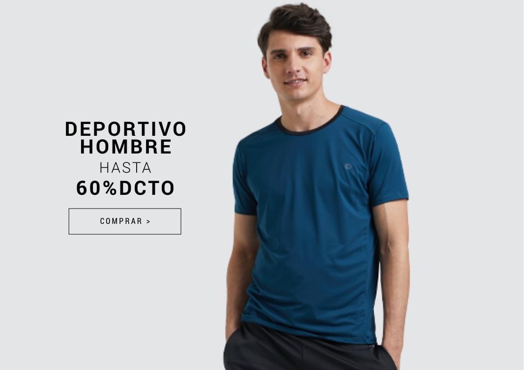 Banner Home - JUN2021 - Hombre - Deportivo Hasta 60% (Desktop)