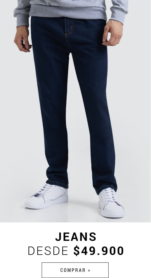 Banner Home - JUN2021 - Hombre - Jeans Desde $49.900 (Desktop)
