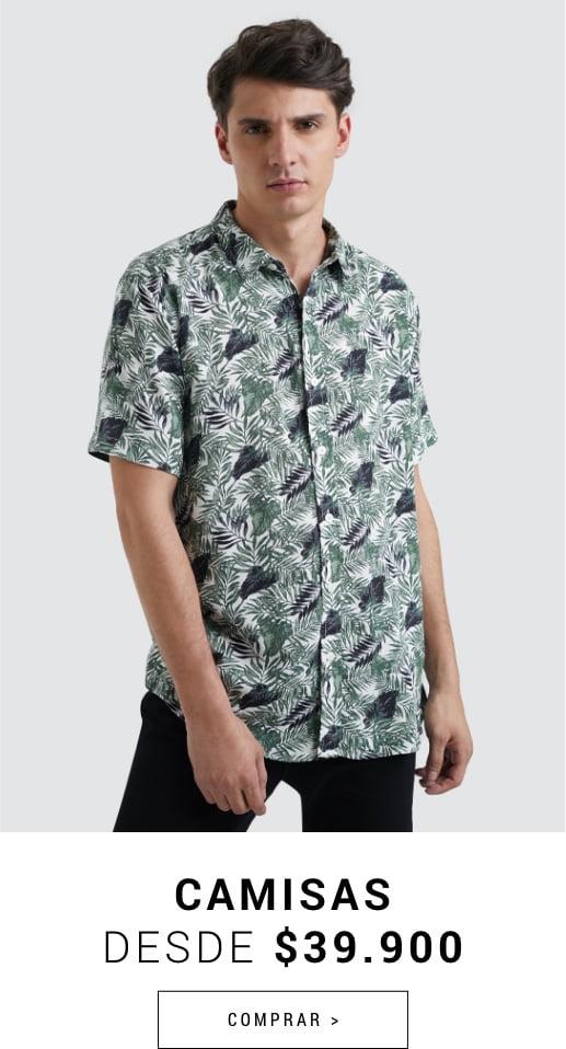 Banner Home - JUN2021 - Hombre - Camisas Desde $36.900 (Desktop)