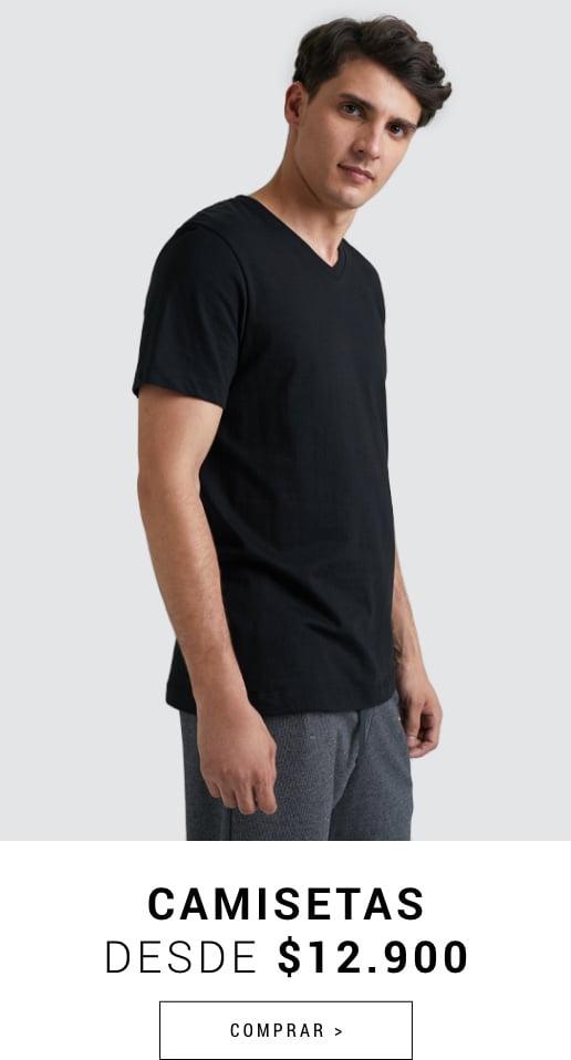 Banner Home - JUN2021 - Hombre - Camisetas Desde $10.900 (Desktop)