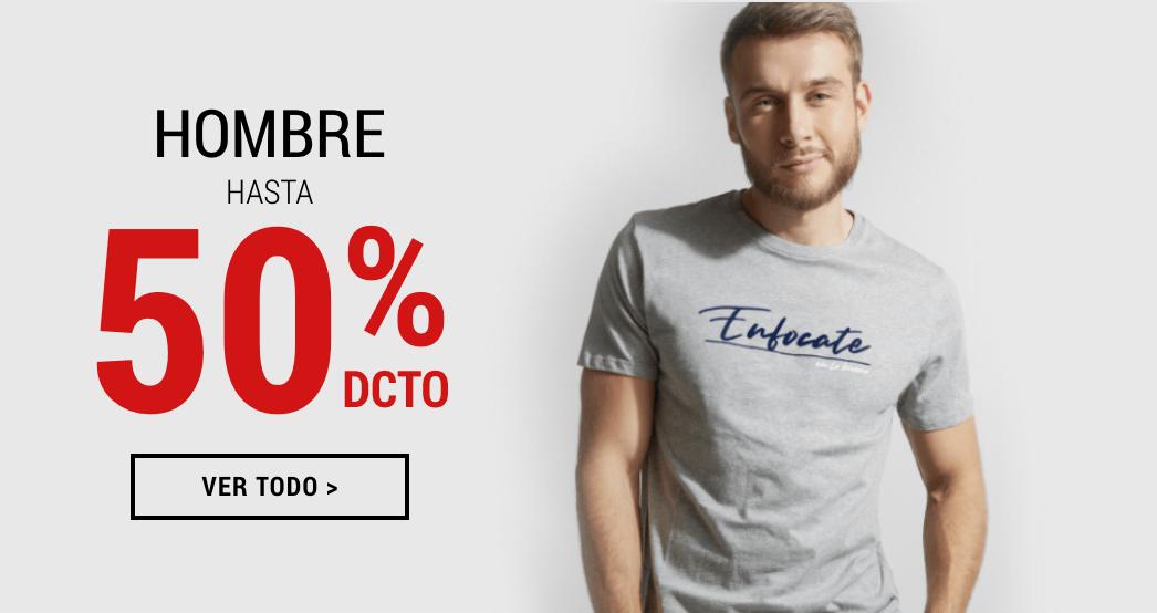 Promociones ropa hombre Banner Sale desktop